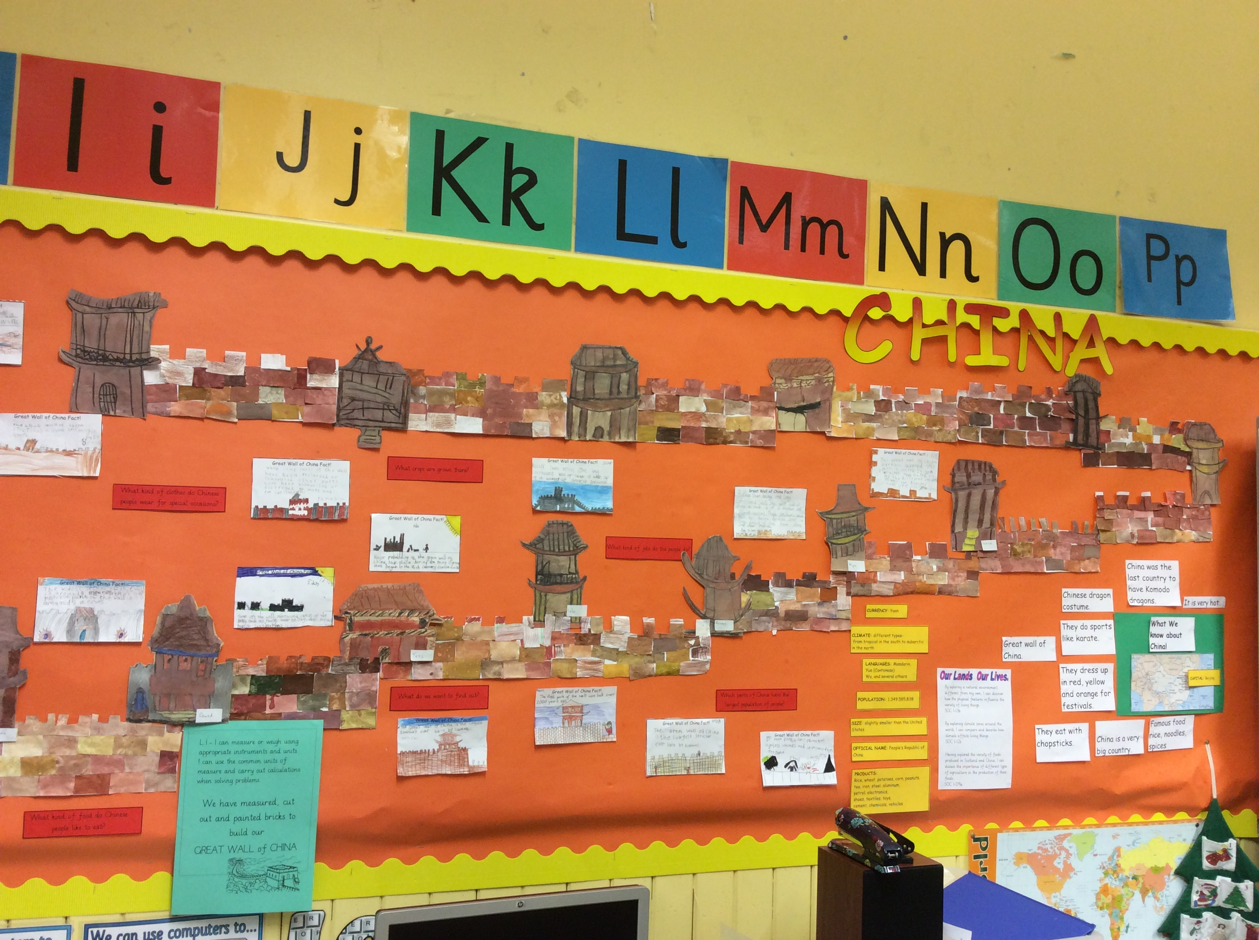 Great Wall Of China Kings Park Primary School Dalkeith