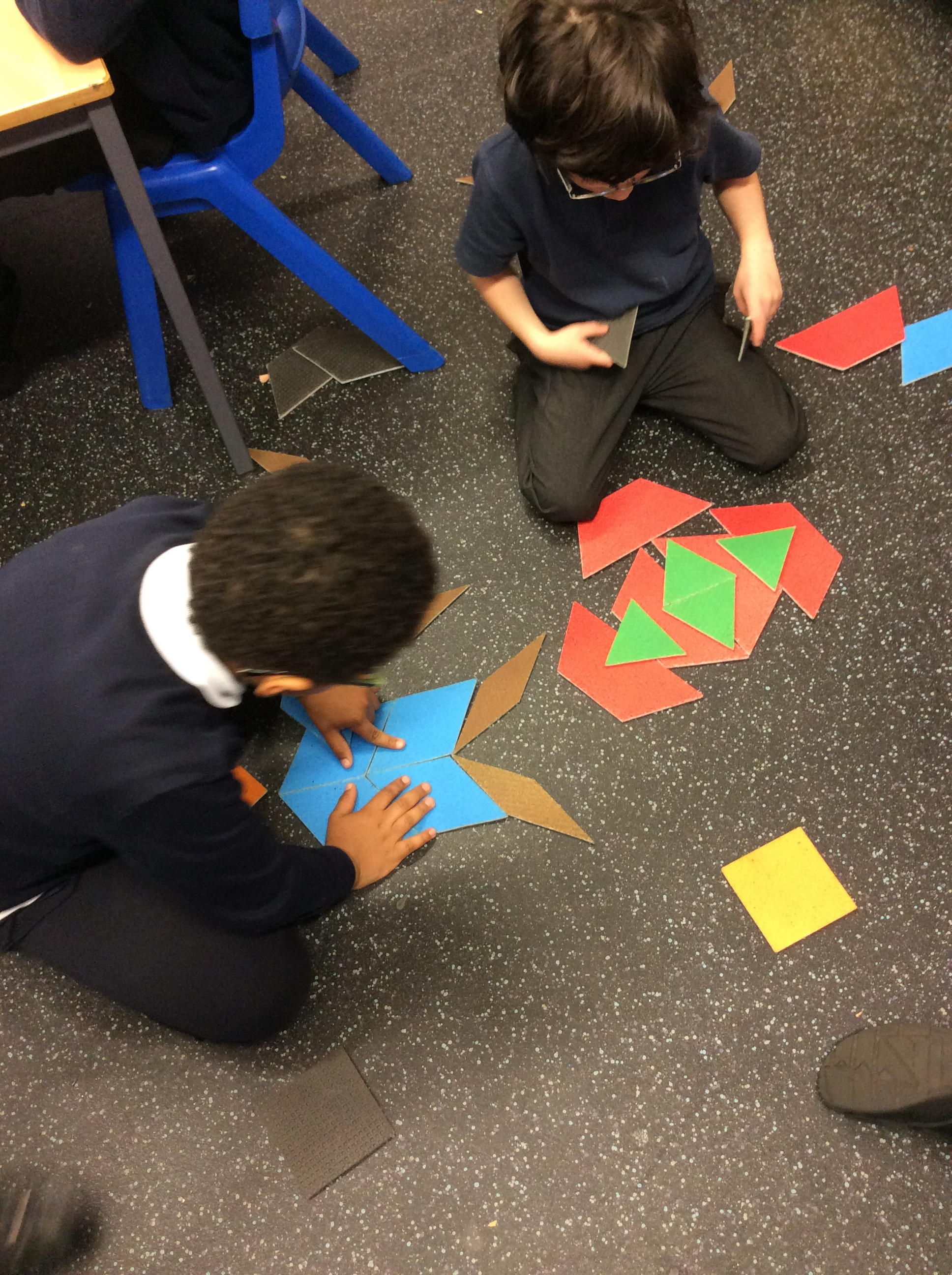 Tiling with 2D shapes